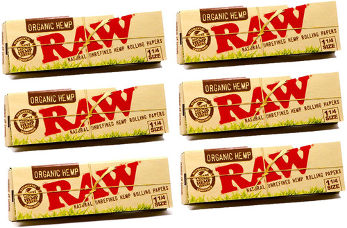 RAW | Organic Hemp | 1 1/4 Papers