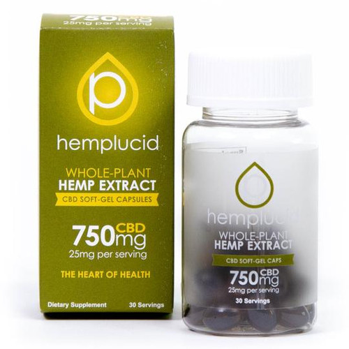 HempLucid | Full Spectrum | Softgels | 750mg