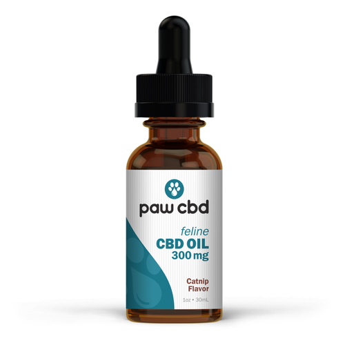 Pet CBD Oil Tincture for Cats | 300 mg | 1oz