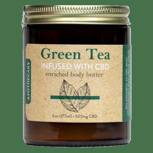 Brother's Apothecary | Body Butter | Green Tea & CBD