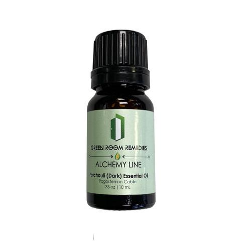 Green Room Remedies | Essential Oil | Patchouli (Dark) | 10mL