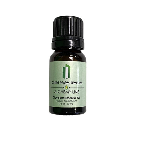 Green Room Remedies | Essential Oil | Clove Bud | 10mL