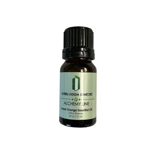 Green Room Remedies | Essential Oil | Sweet Orange | 10mL