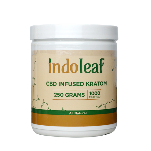 Urban Ice Organics | Kratom | Indoleaf | CBD Infused | 250g