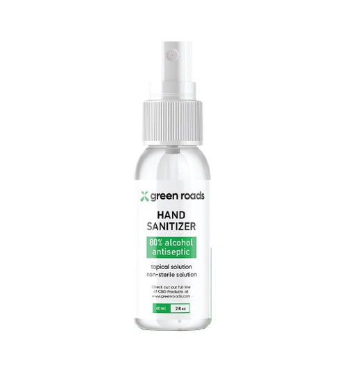 Green Roads | Hand Sanitizer | 2oz