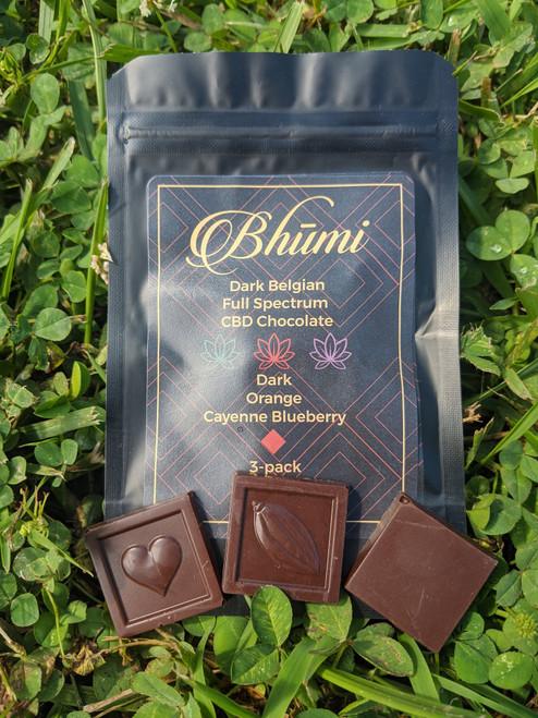Bhumi | Dark Chocolate Mini's 3Pk