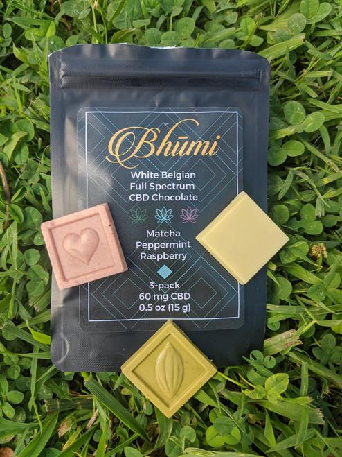 Bhumi | White Chocolate Mini's 3Pk