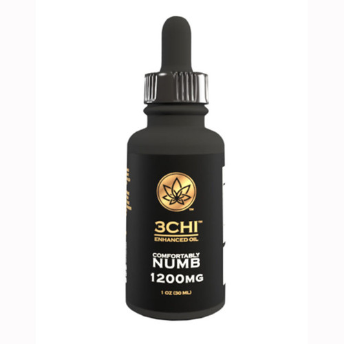 3Chi | Tincture | Comfortably Numb | △8-CBN 1:1 | 1200mg
