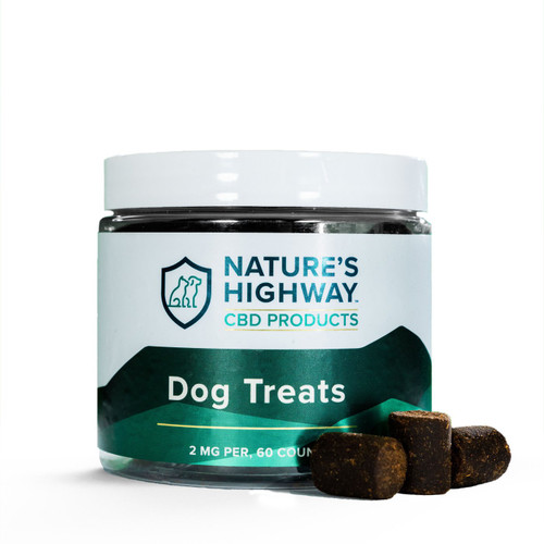 Nature's Highway | Chewy Dog Treats | 2mg