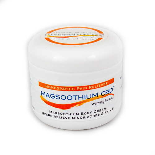 Magsoothium | Warming Cream | Magnesium, Arnica and CBD