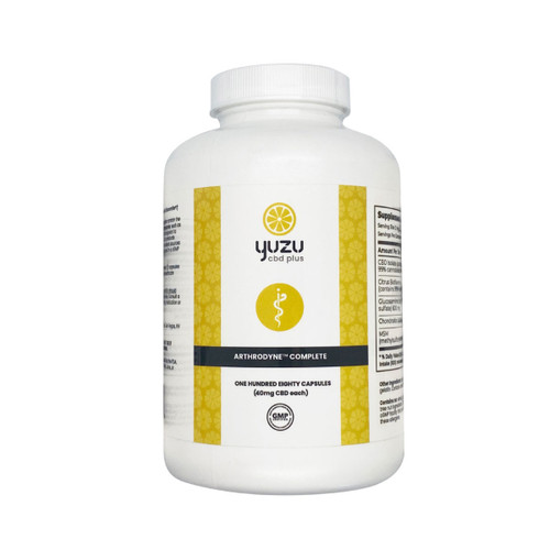Yuzu CBD+ | Arthrodyne Complete | CBD, MSM, Glucosamine & Chondroitin