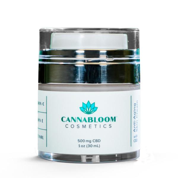 Cannabloom   Anti-Aging Wrinkle Cream with Hemp