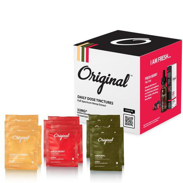 Original Hemp   Daily Dose Tinctures
