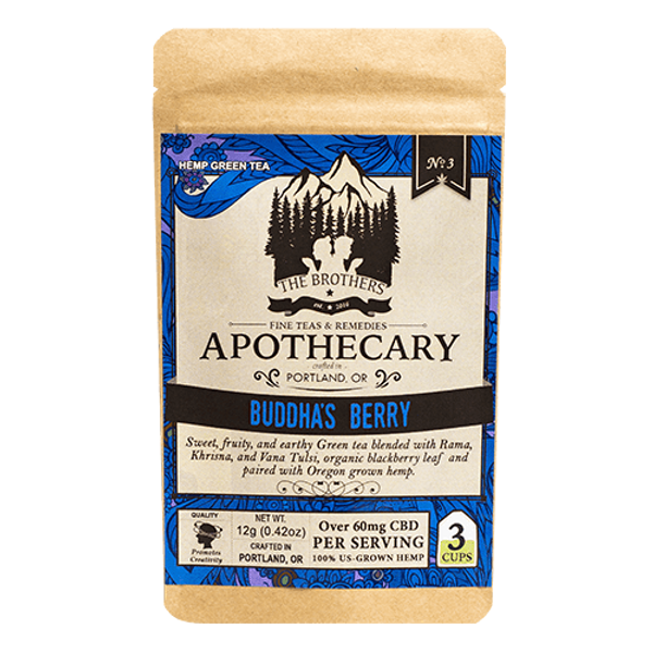 Brothers Apothecary | Buddha Berry | Hemp CBD Tea | No. 3