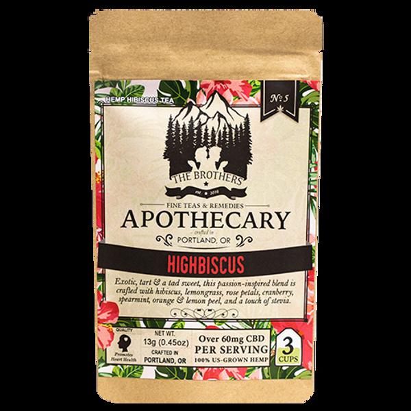 Brothers Apothecary   Highbiscus   Hemp CBD Tea   No. 5