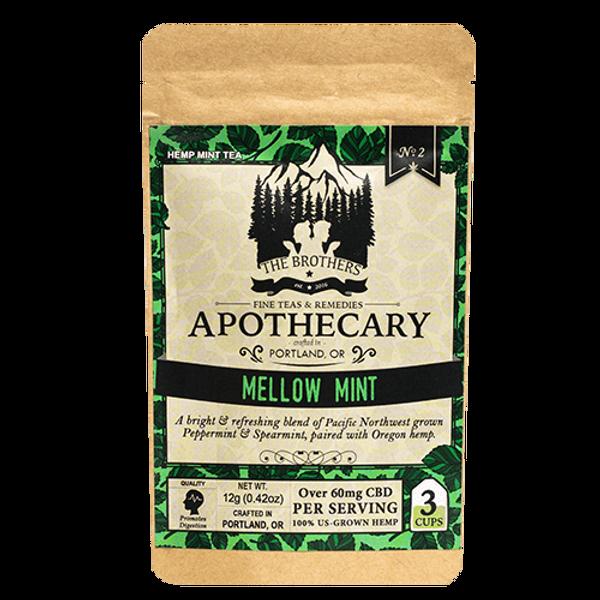 Brother's Apothecary | CBD Tea | Mellow Mint  | 60mg