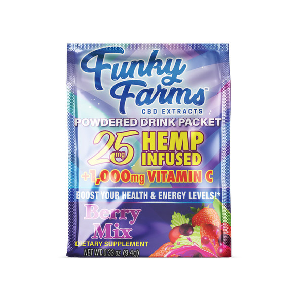 Funky Farms | Drink Packet | Berry Blend | 25mg