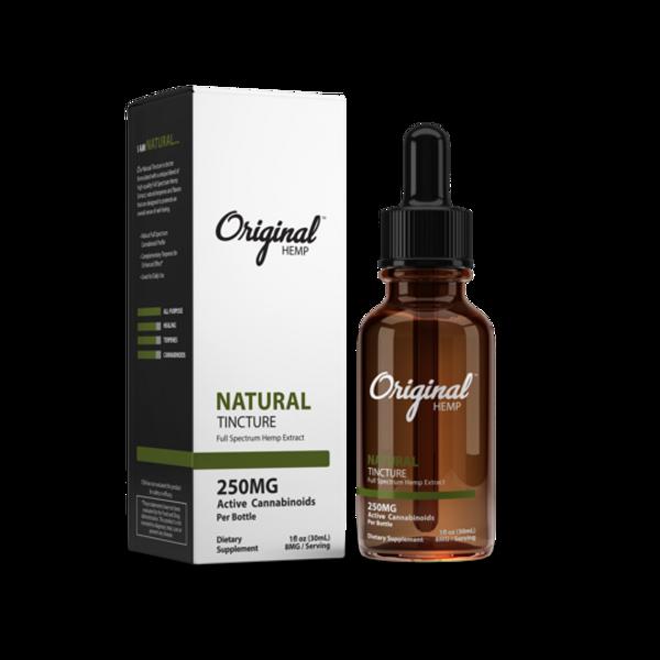 Original Hemp | Tincture| Natural | 250mg | 30ml