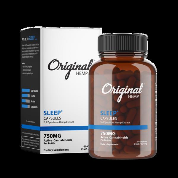 Originl Hemp | Sleep Capsules | 25mg
