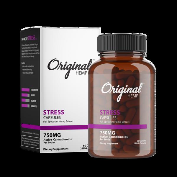 Originl Hemp | Stress Capsules | 25mg