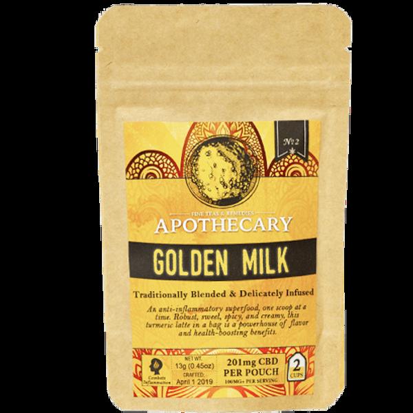 Golden Milk | CBD Golden Milk Turmeric Latte
