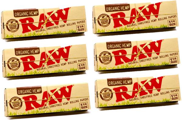 RAW | Organic Hemp | 1 1/4 Papers