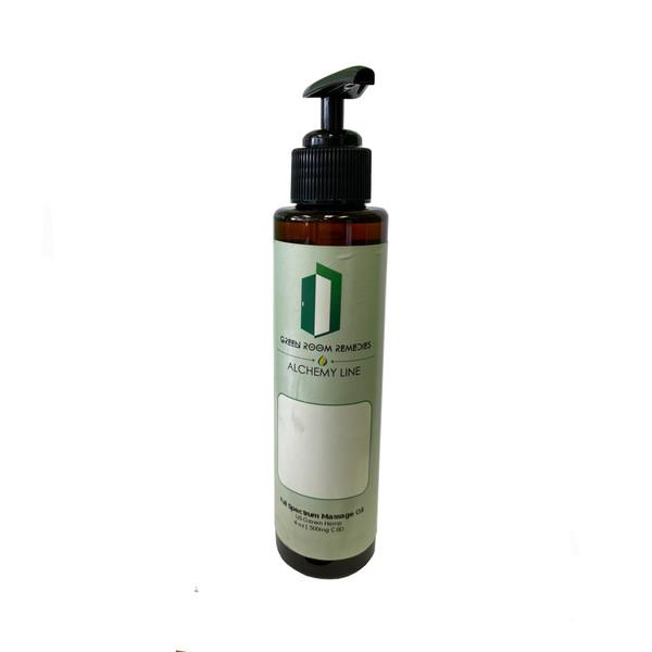 Green Room Remedies | Massage Oil | 500mg | 4oz