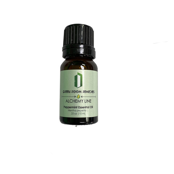 Green Room Remedies | Essential Oil | Peppermint | 10mL