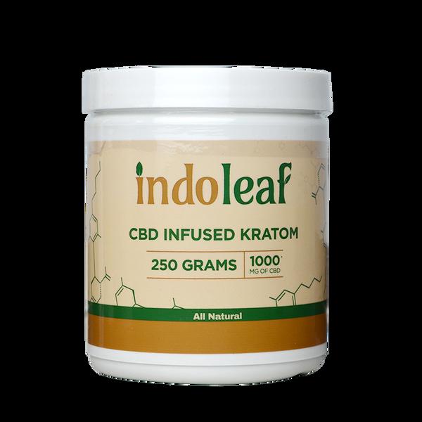 Urban Ice Organics | Kratom | Indoleaf | CBD Infused | 250g