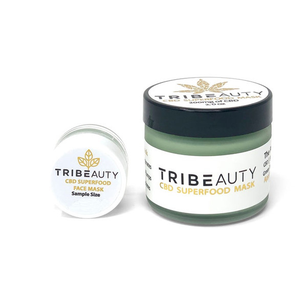 Tribe Beauty | Superfood Face Mask | Travel Size