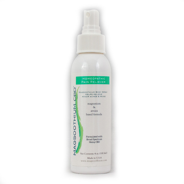 Magsoothium | Pain Relief Spray | Magnesium, CBD & Arnica