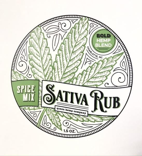 Queen Hemp Co | Cooking Blends | Sativa Rub