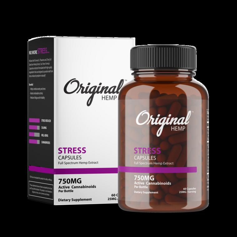 Original Hemp | Stress | Capsules | 25mg