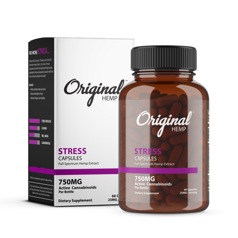 Stress   Capsules   25mg
