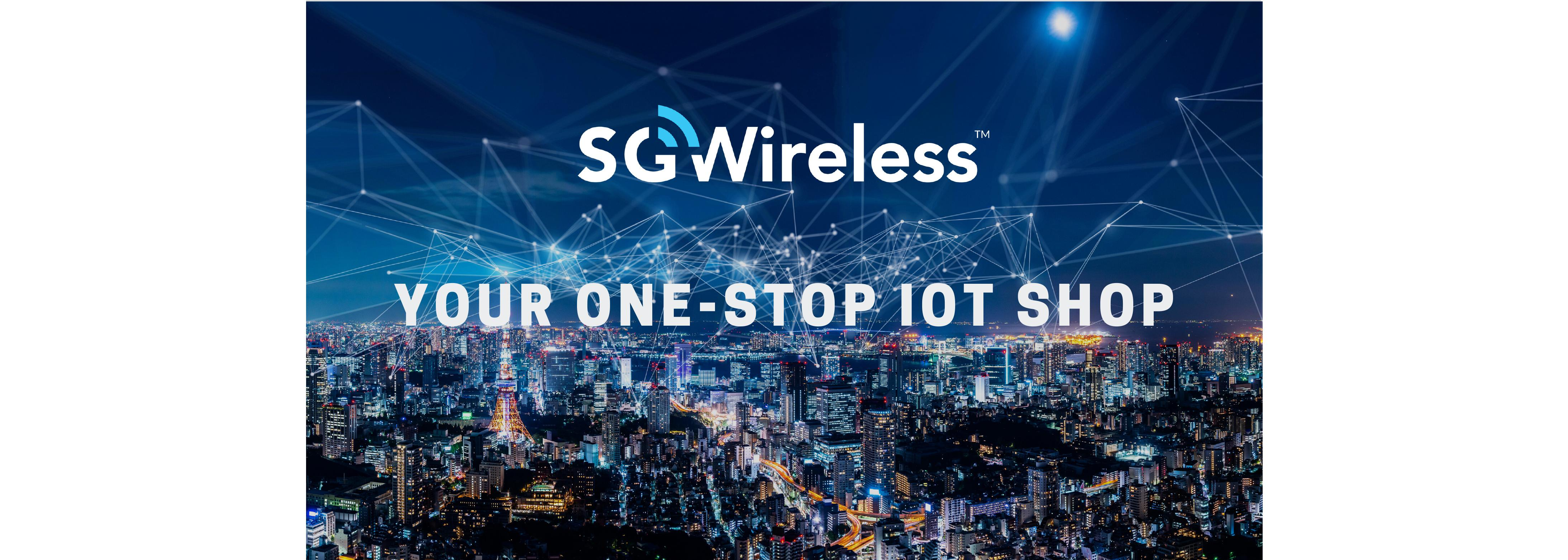 sg wireless sgw one-stop iot shop shop now