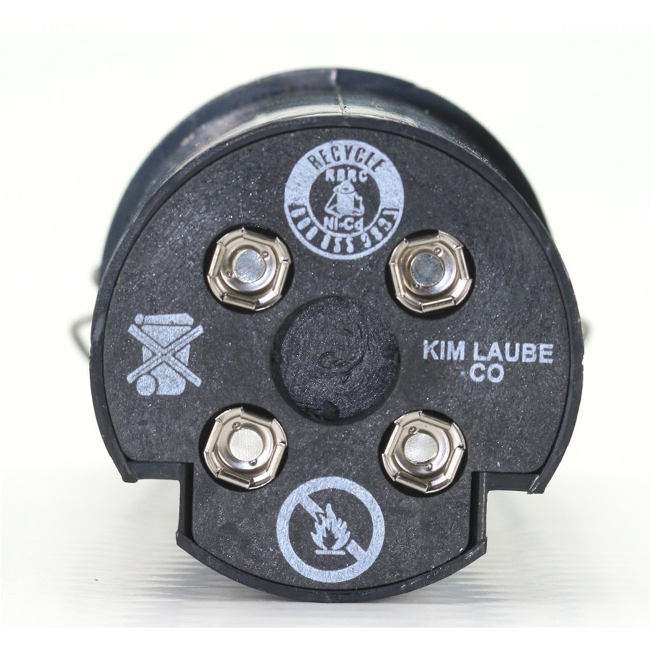Lazor Super Battery contacts shown.