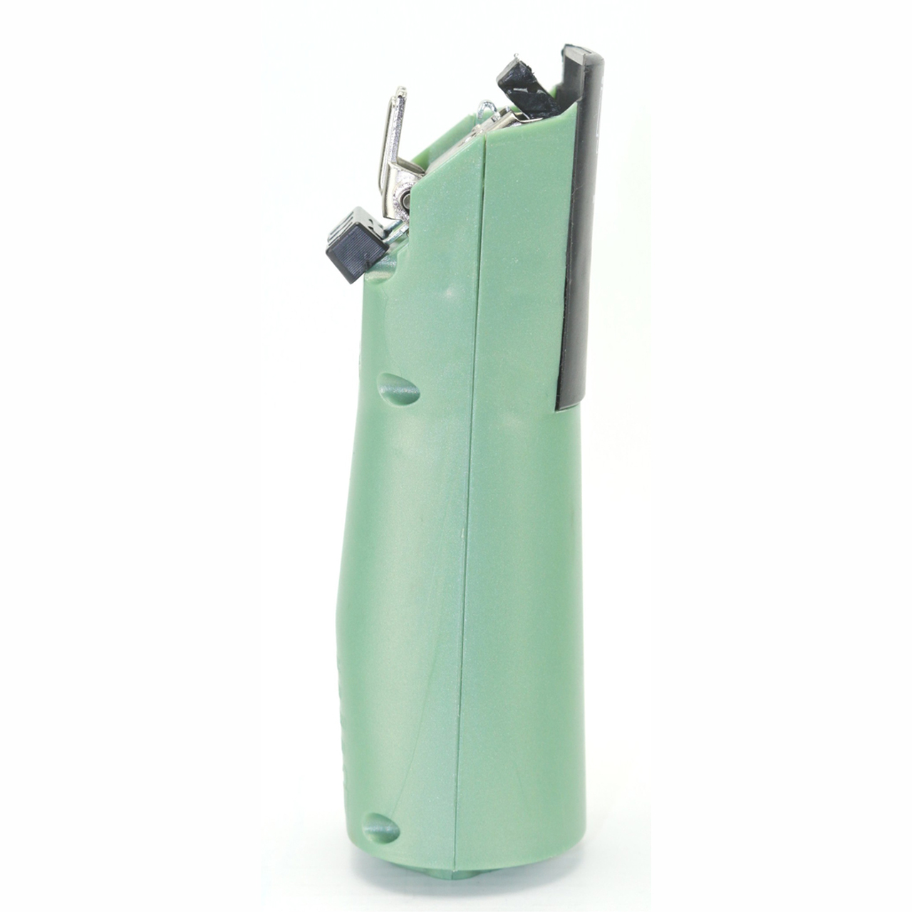 Laube iClip Sage Green handpiece side view.