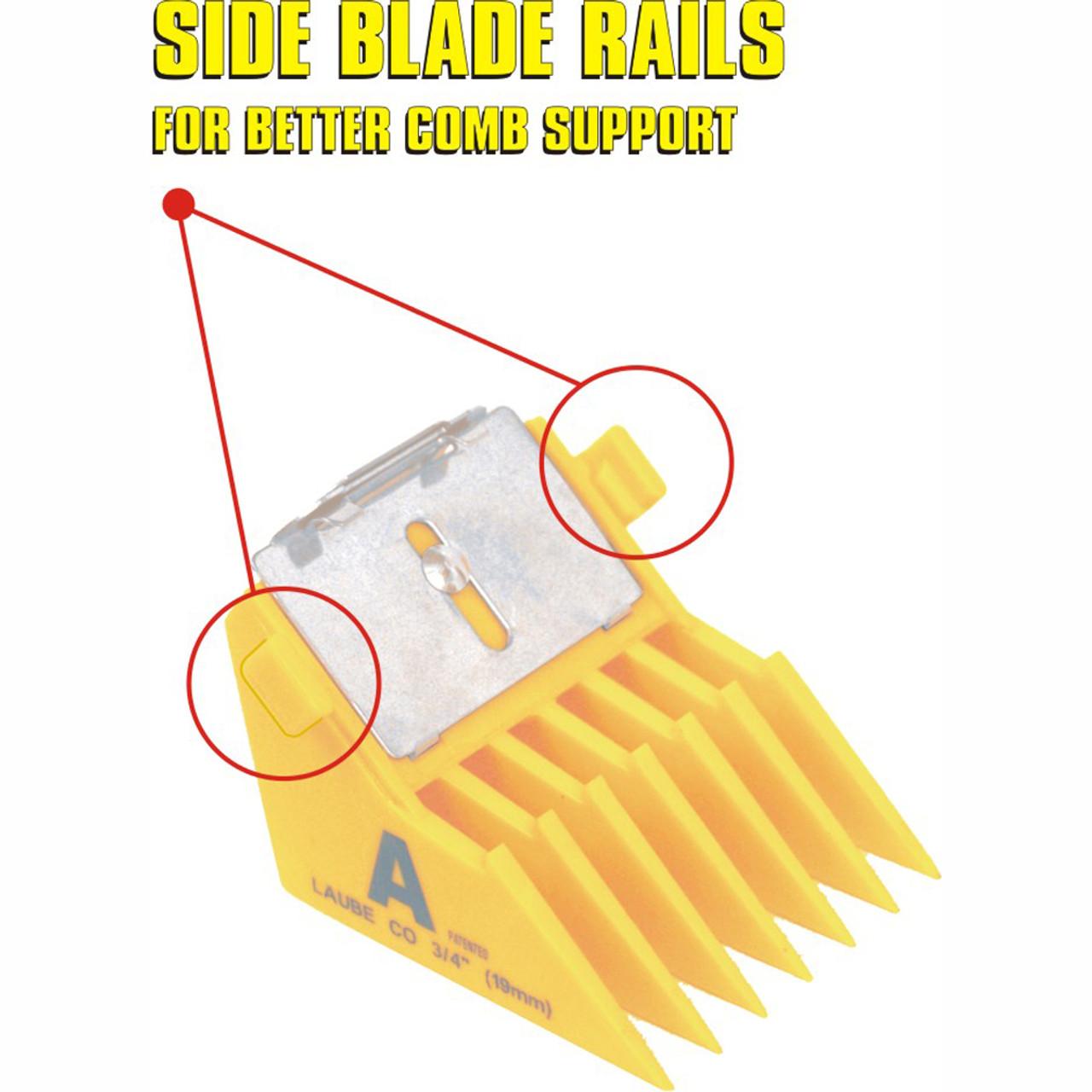 Big K Combs Clipper Blade Combs, Guards