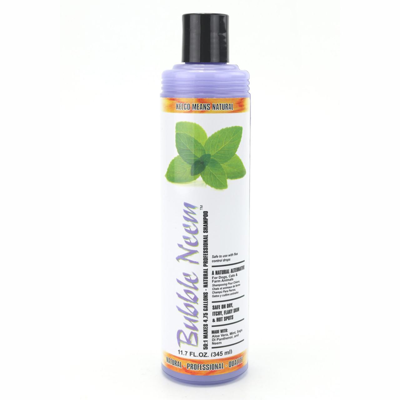 Kelco Bubble Neem Shampoo in 11.7 oz Size