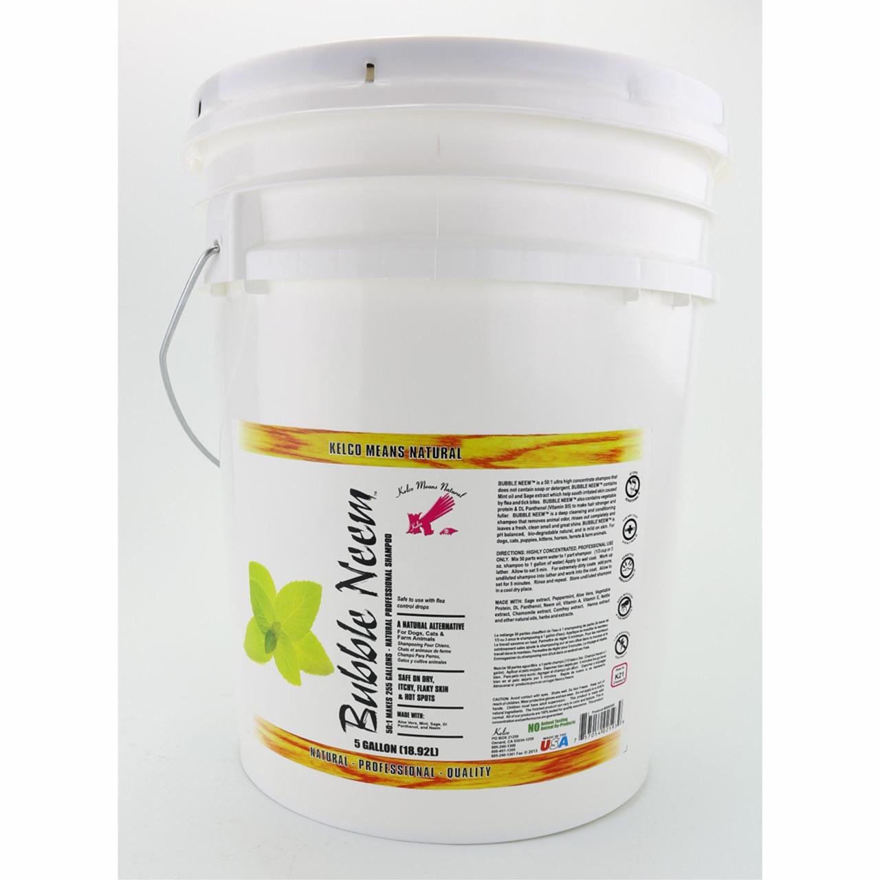 Kelco Bubble Neem Shampoo in 5 Gallon Size