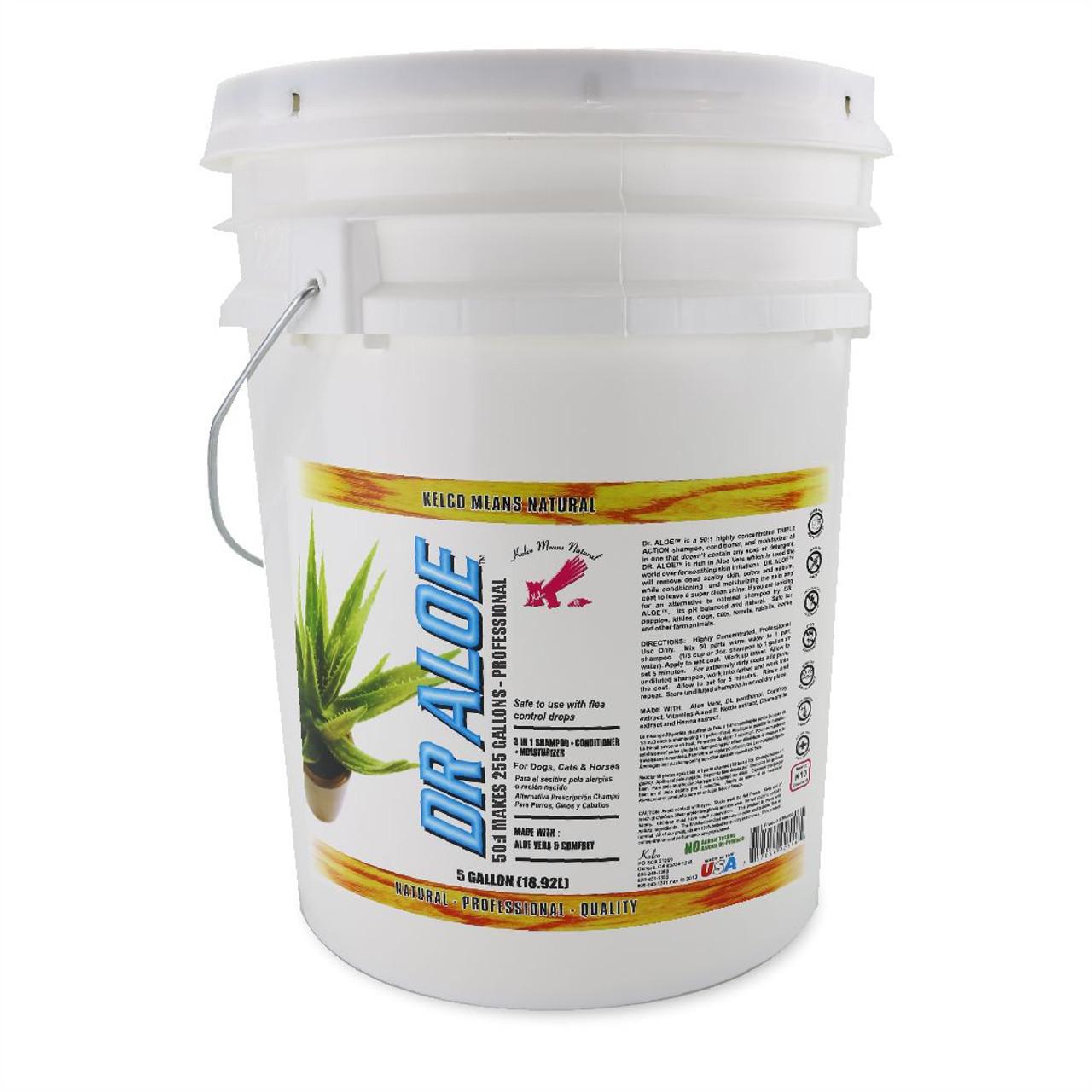 Kelco Dr. Aloe 5 Gallon Shampoo