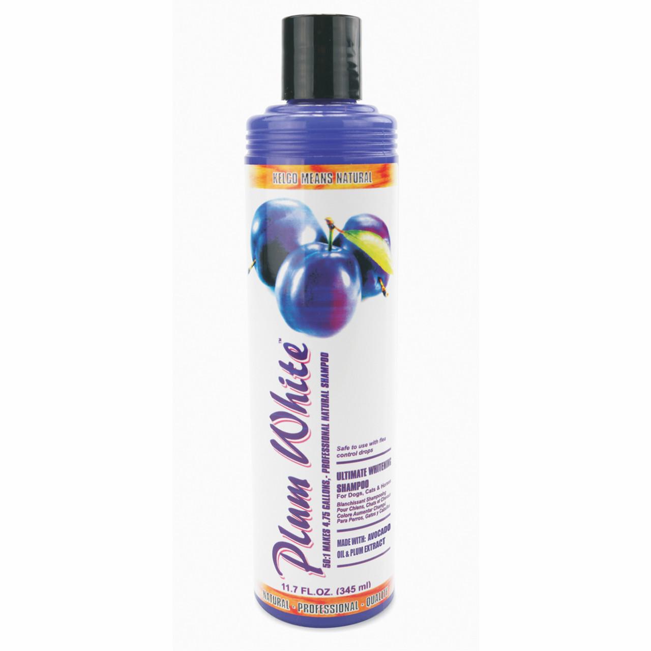 Kelco Plum White 11.7 oz Shampoo