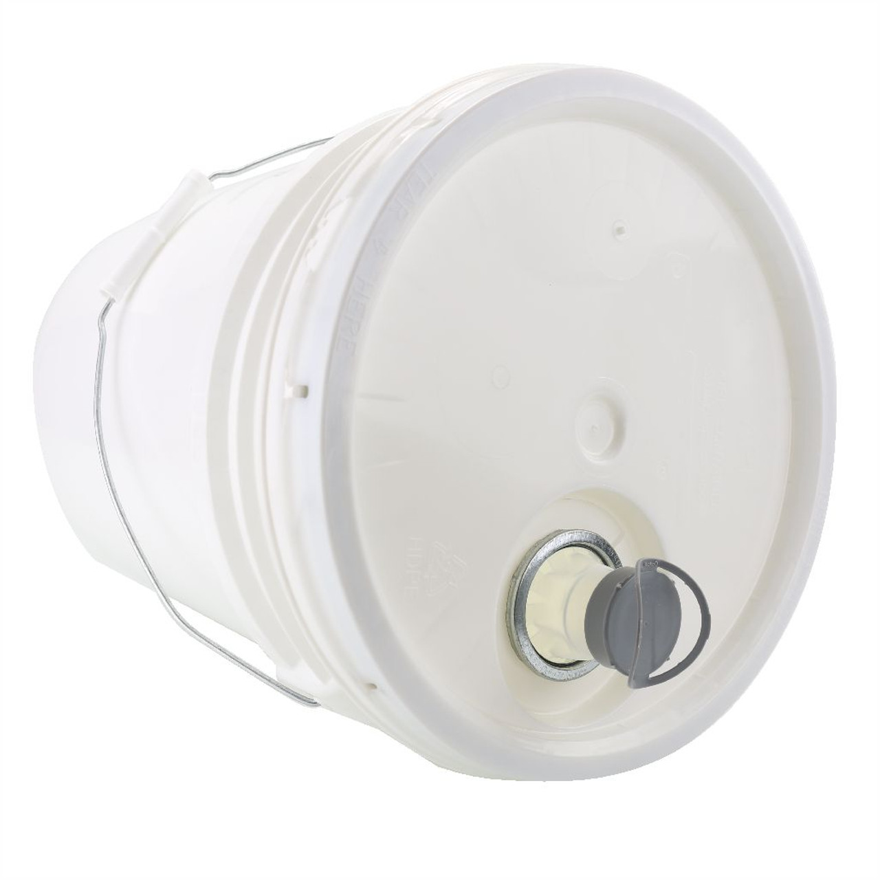 Top View of Kelco™ 5 Gallon Shampoo Bucket