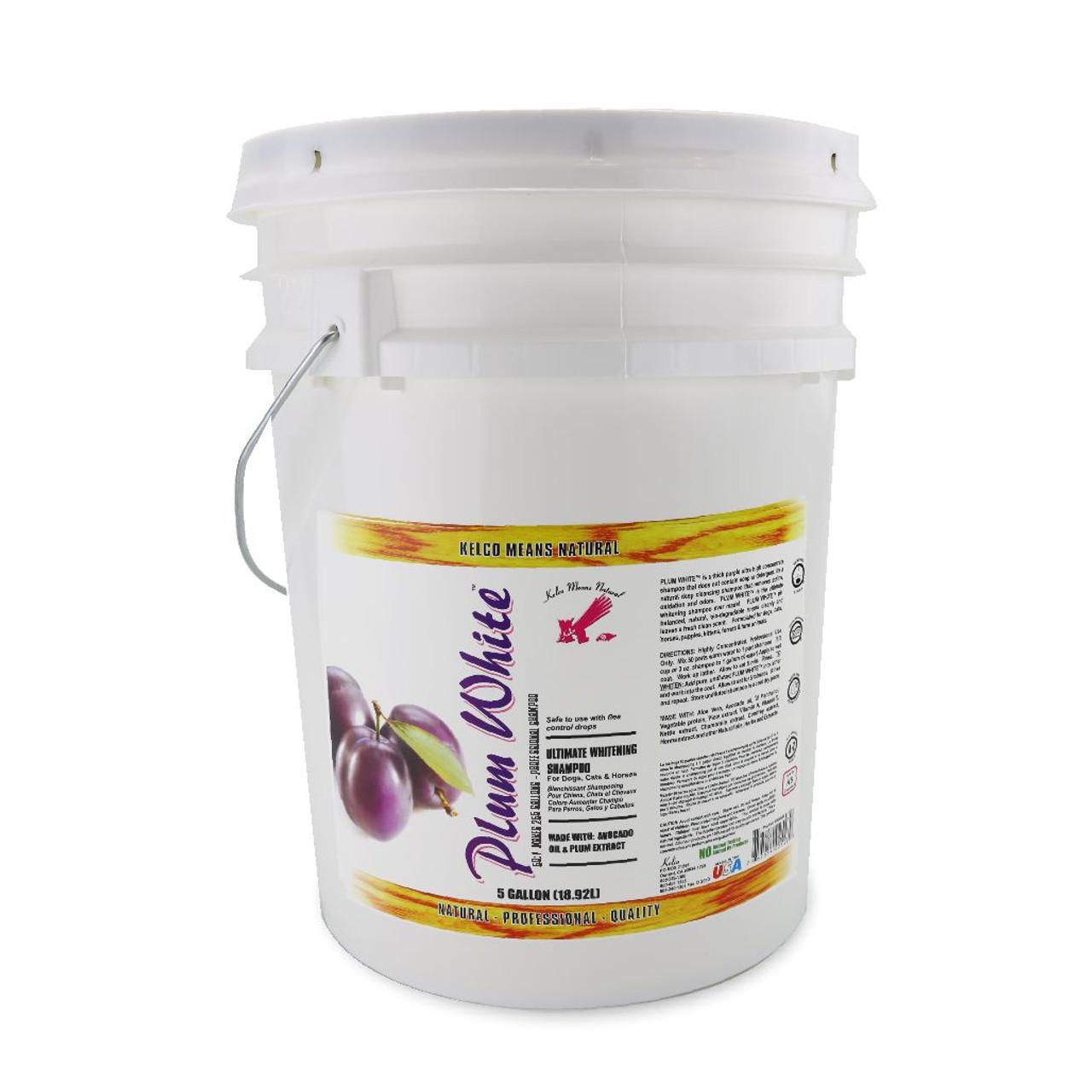 Kelco™ Plum White 5 Gallon Shampoo