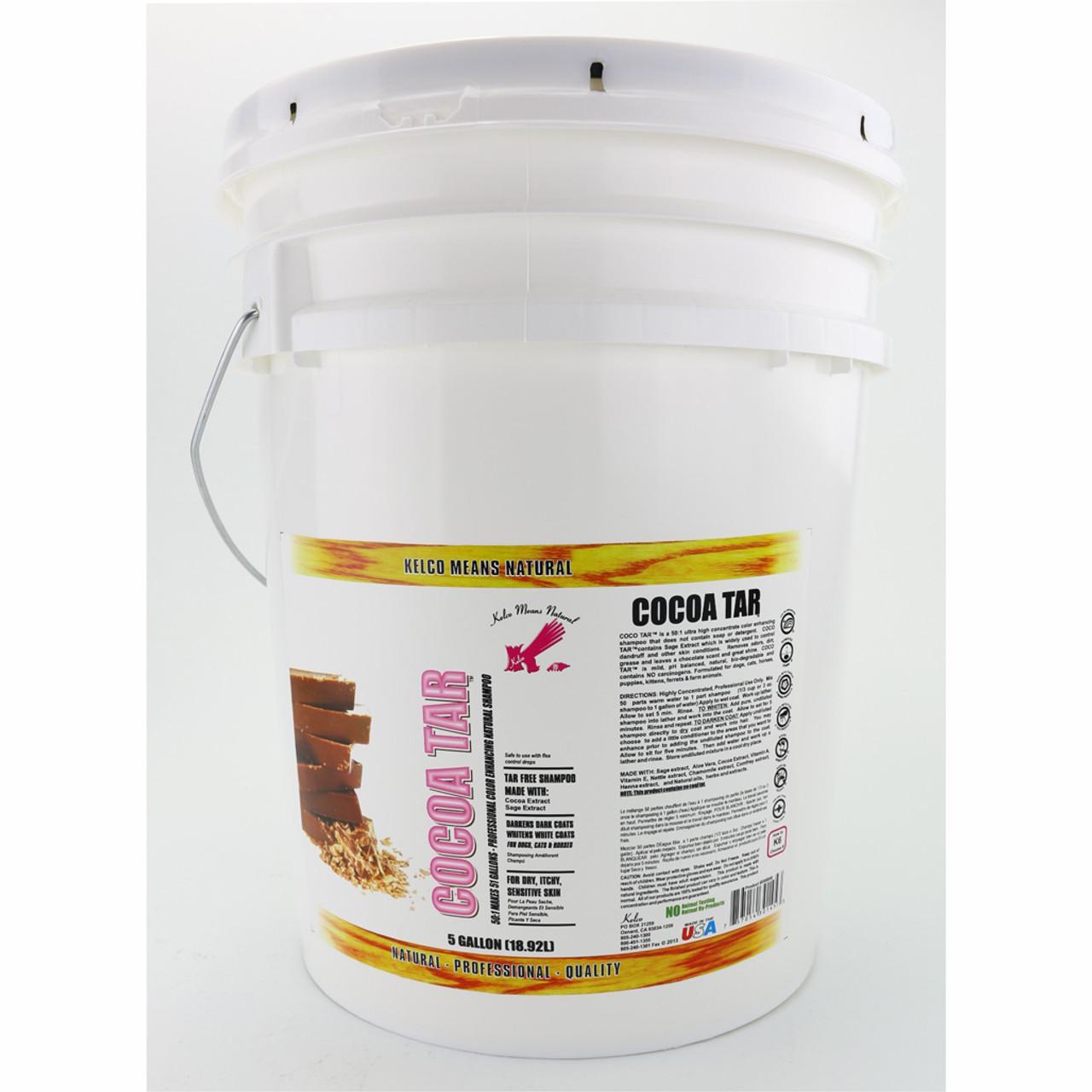 Kelco Cocoa Tar Shampoo in 5 Gallon Size