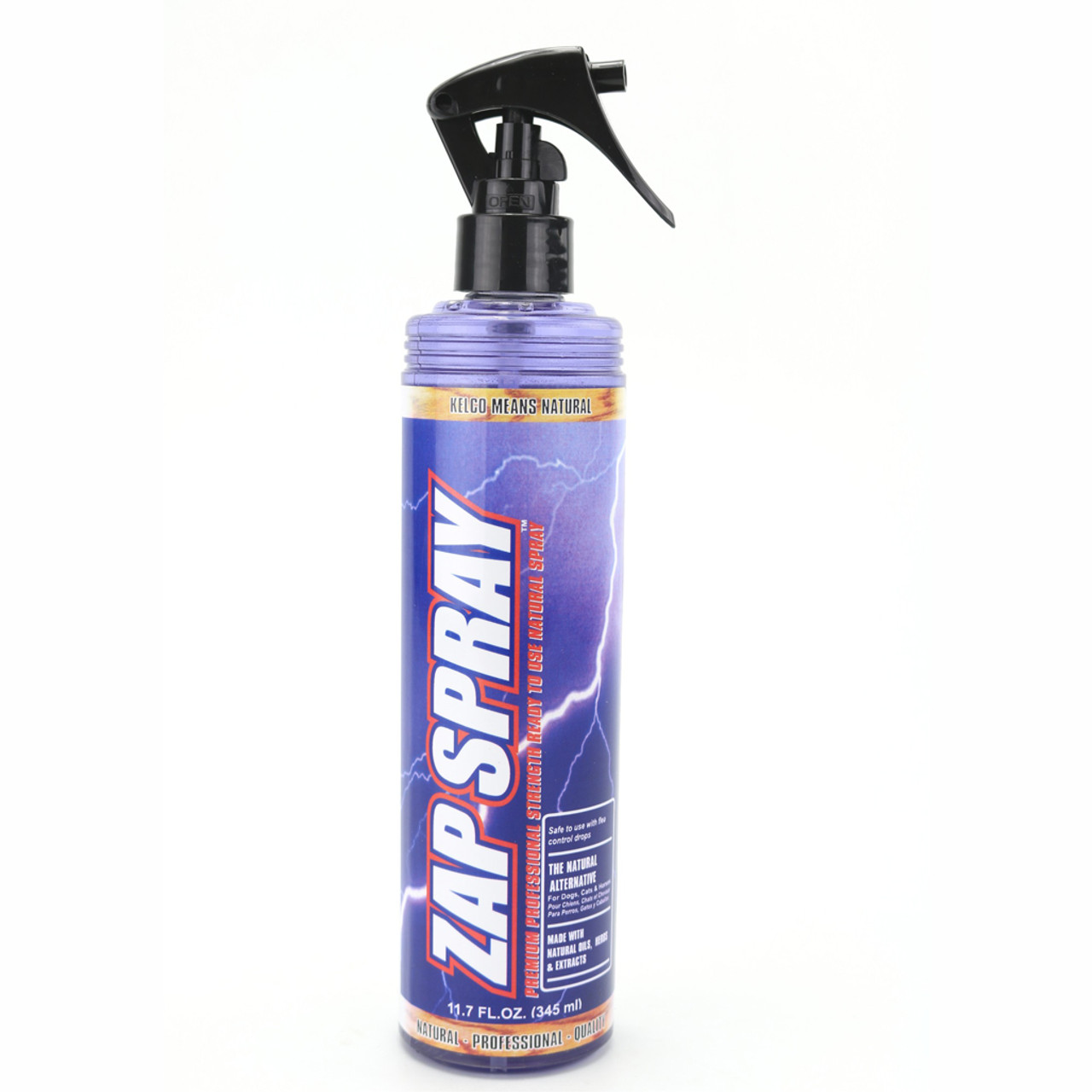 Kelco Zap Spray RTU in 11.7 oz., Size