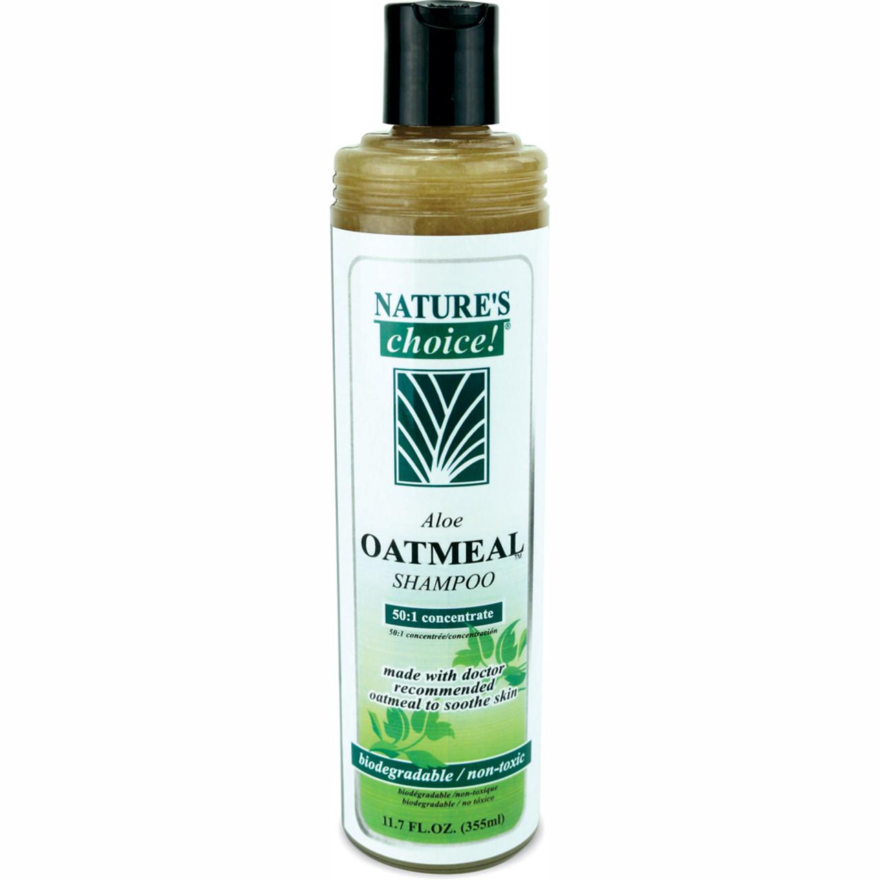Aloe Oatmeal Shampoo in 11.7 oz size.
