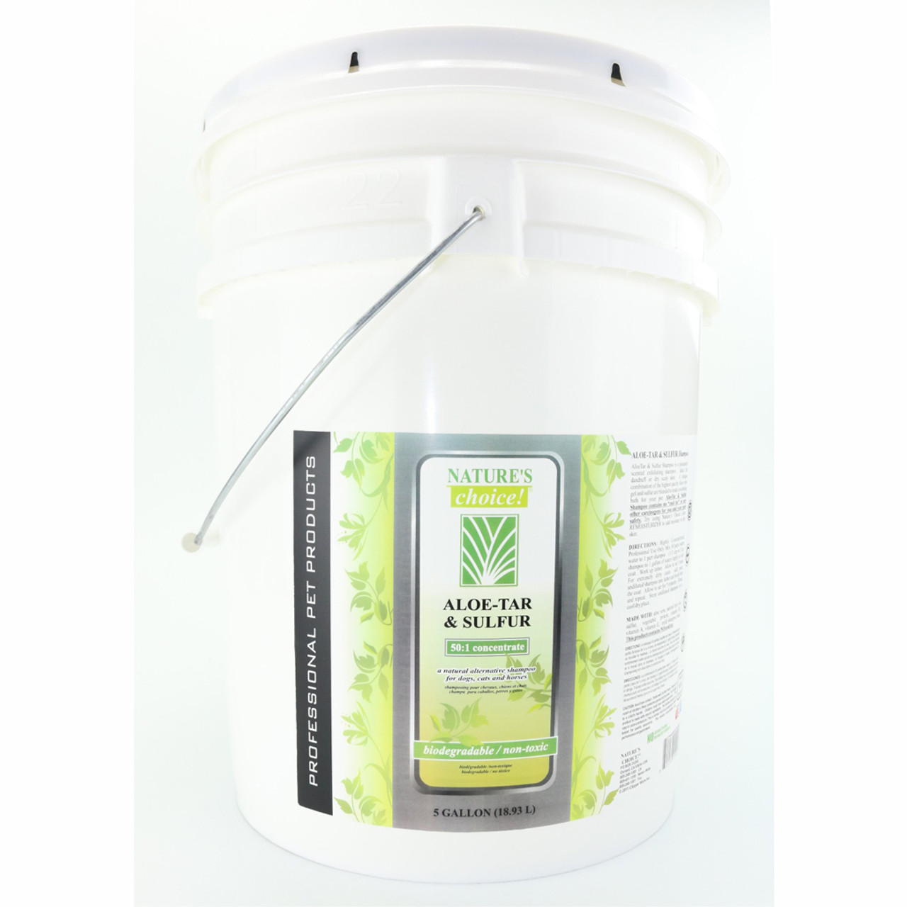 Aloe-Tar & Sulfur in 5 Gallon size.