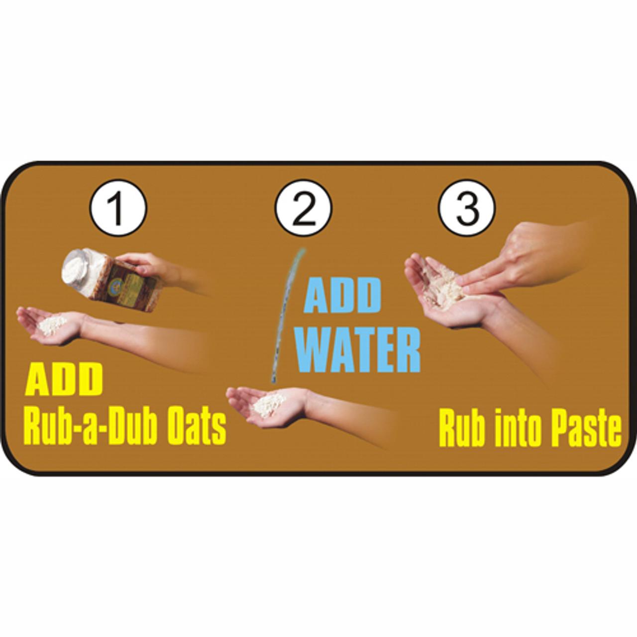 rub a dub instructions