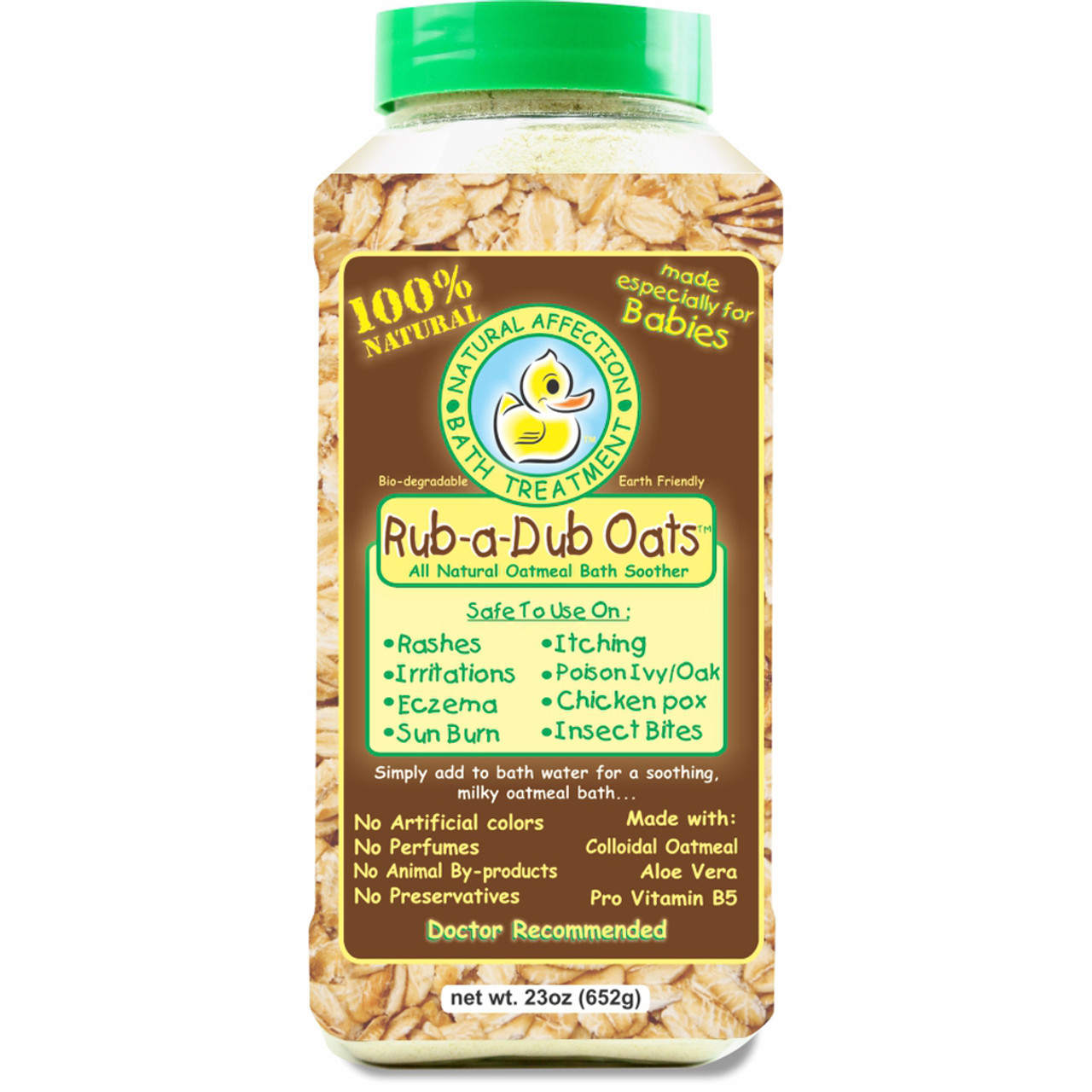Rub A Dub Oats 23 oz. size